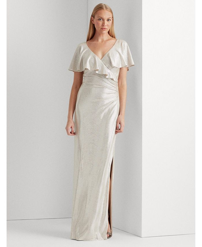Lauren Ralph Lauren - Cold-Shoulder Jersey Gown