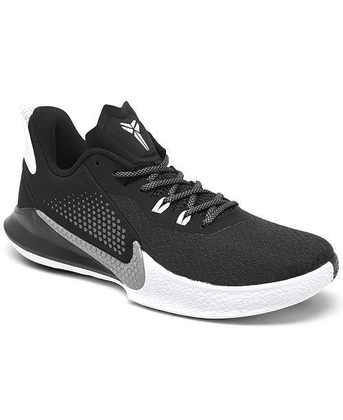 Nike Men's Mamba Fury Basketball Sneakers from Finish Line ...