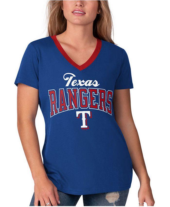 G-III Sports - Women's Texas Rangers Fair Ball T-Shirt