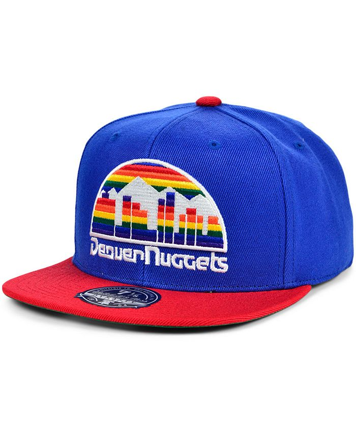 Mitchell & Ness - Denver Nuggets Wool 2 Tone Fitted Cap