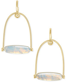 Kendra Scott 14k Gold-Plated Stone Statement Earrings