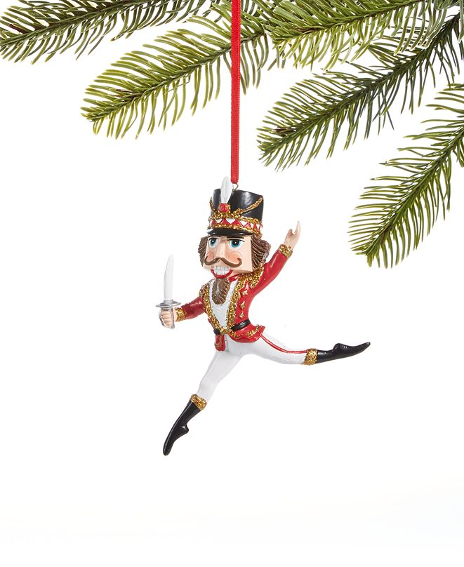 Holiday Lane Ballet Dancing Nutcracker Ornament, Created for Macy's