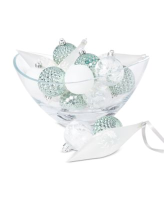 Birds & Boughs Ornament Set, Set of 16, Created For Macy's