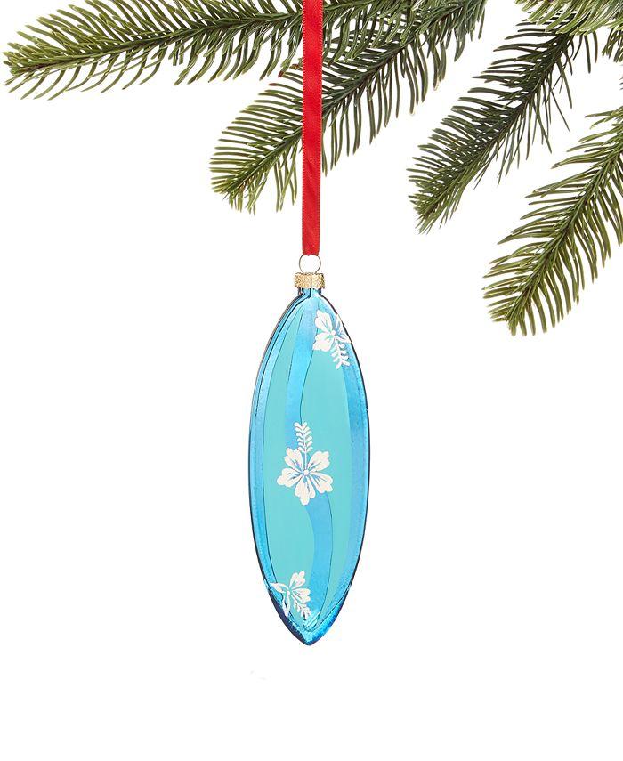 Holiday Lane - Hawaii Blue Surf Board Ornament
