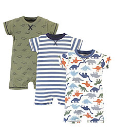 Touched by Nature Baby Boys Rompers