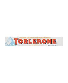 Toblerone White Chocolate Bar, 3.5 oz, 20 Count