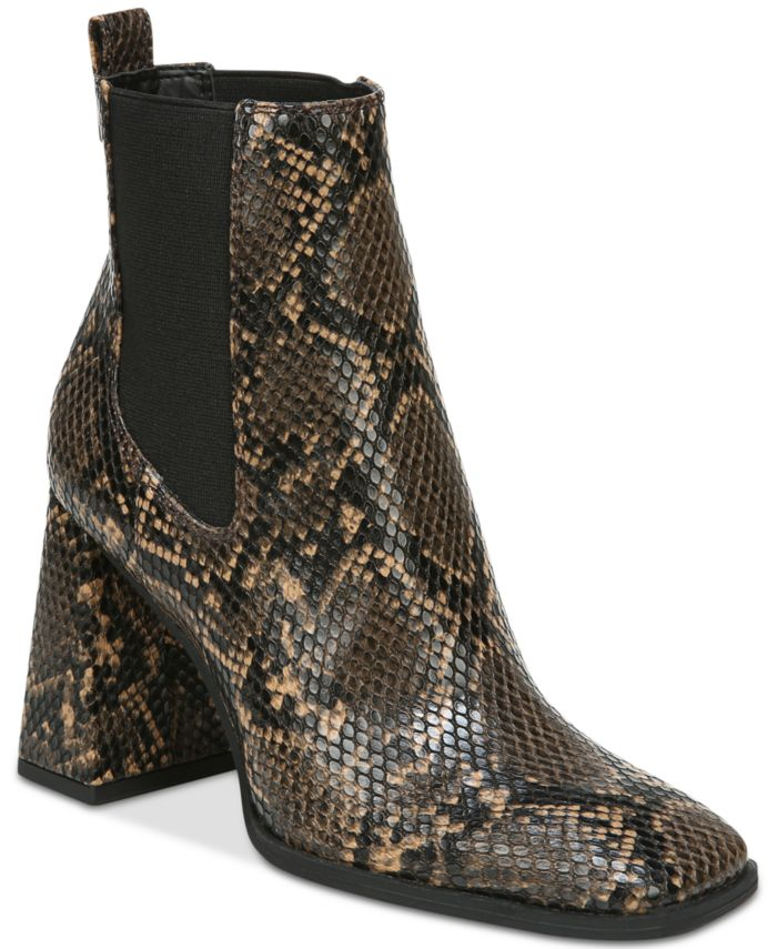 Circus by Sam Edelman Women's Polly Block-Heel Chelsea Booties & Reviews - Boots - Shoes - Macy's
