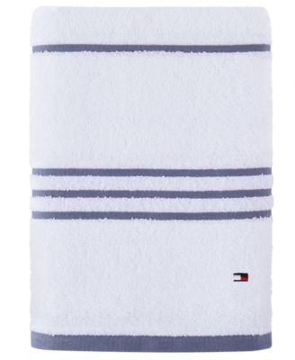 Modern American Stripe 30 x 54 Cotton Bath Towel