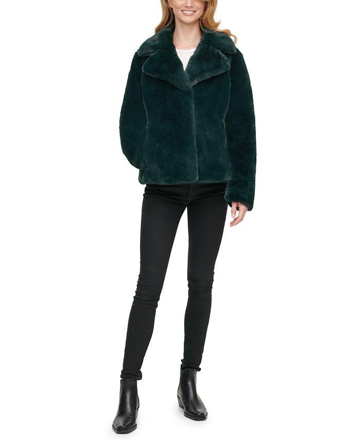 DKNY - Faux-Fur Coat