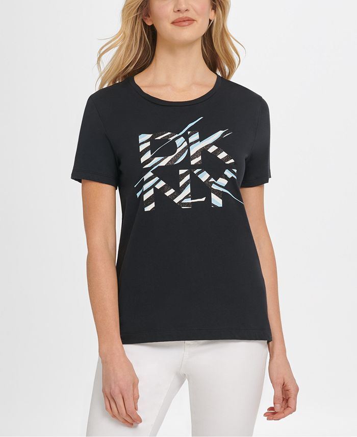DKNY - Glitter Logo T-Shirt