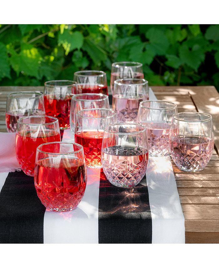 Longchamp - 10oz stemless wine set/12