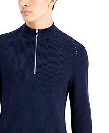INC Men's Howie Quarter-Zip Sweater, Created for Macy's