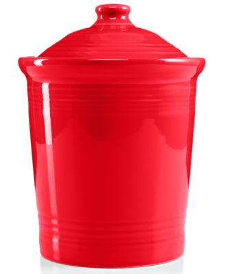 Fiesta Scarlet Small Canister
