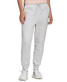 adidas Women's Stacked-Logo Fleece Pants
