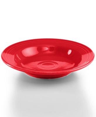 Fiesta Scarlet Rim Soup Bowl