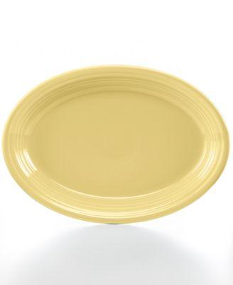 """Fiesta Ivory 13"""" Oval Platter"""