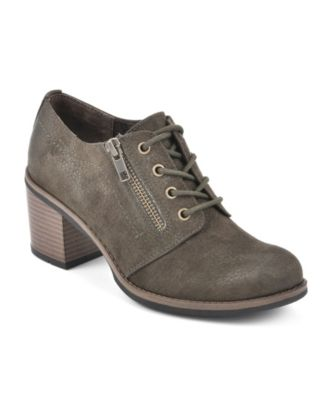White Mountain Desaray Lace-Up Booties