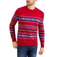 Club Room Mens Fair Isle Sweater Deals