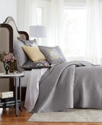 Classic Grand Bouquet Full/Queen Coverlet, Created for Macy's