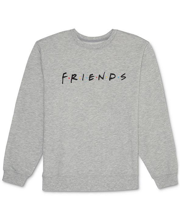 Hybrid Juniors' Friends Logo Fleece Sweatshirt