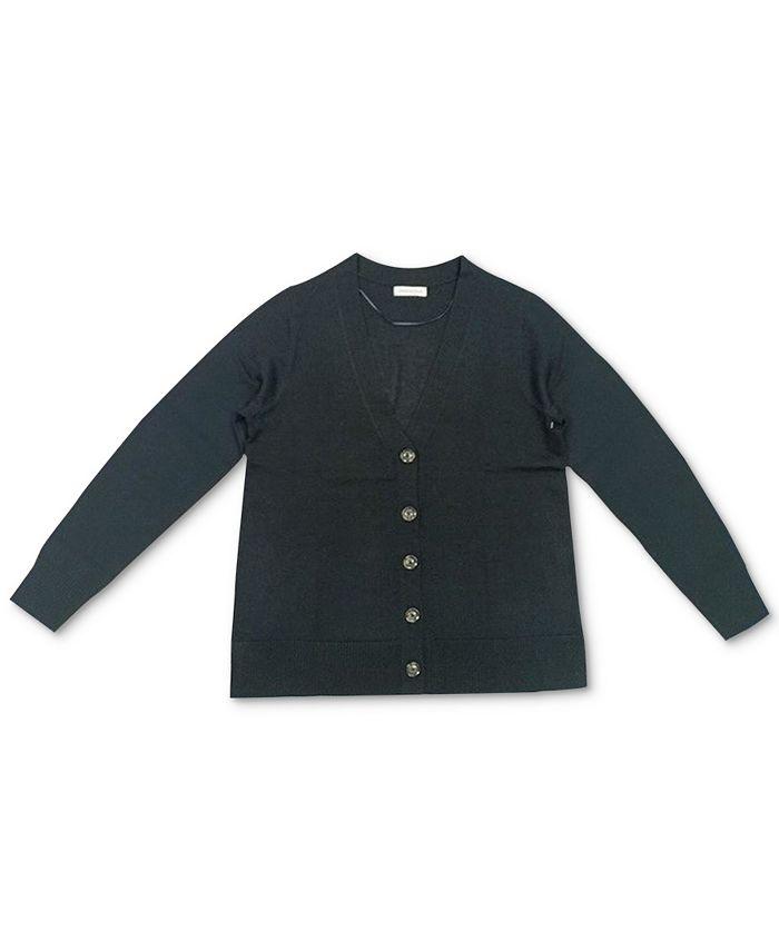 Charter Club - V-Neck Button Cardigan
