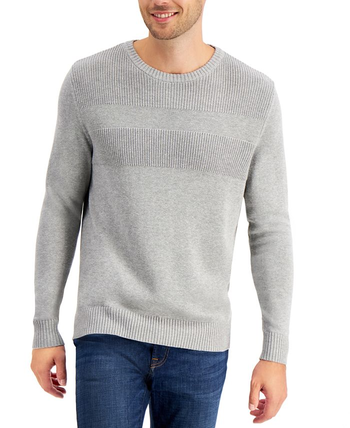 Club Room - Textured Cotton Sweater