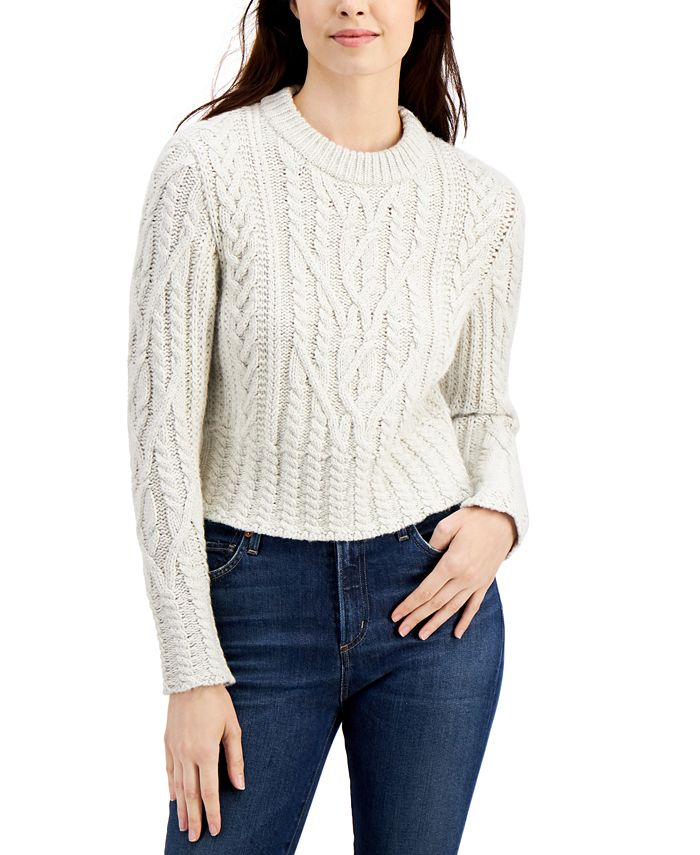 French Connection - Joetta Cable-Knit Sweater