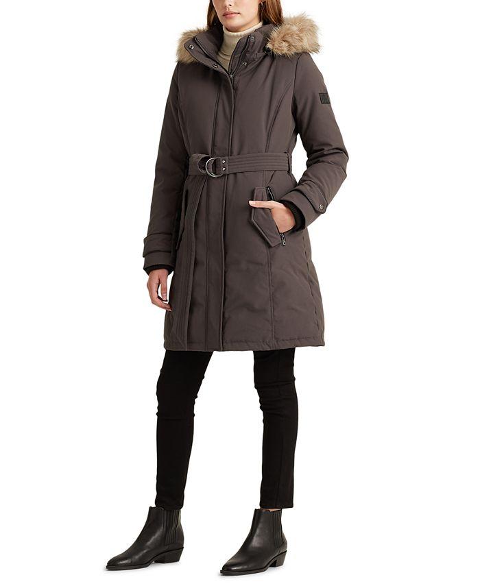 Lauren Ralph Lauren - Belted Expedition Down Coat