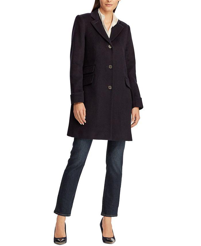 Lauren Ralph Lauren - Menswear-Inspired Overcoat