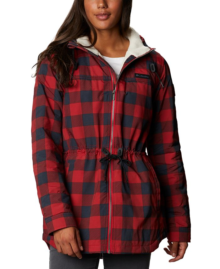 Columbia - Chatfield Hill Plaid Fleece-Lined Utility Jacket