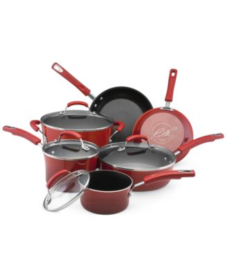 Rachael Ray Porcelain II 10 Piece Cookware Set
