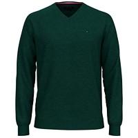 Deals on Tommy Hilfiger Mens Signature Solid V-Neck Sweater