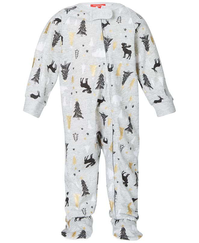 Family Pajamas Matching Baby Woodland-Print Created for Macy's