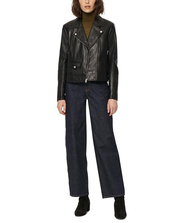 Marc New York - Leather Moto Jacket