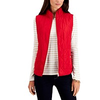 Charter Club Quilted Vest in Regular & Petite