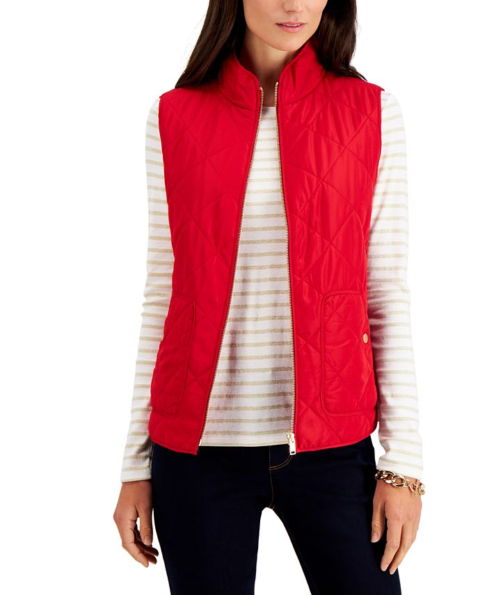 Charter Club - Quilted Vest