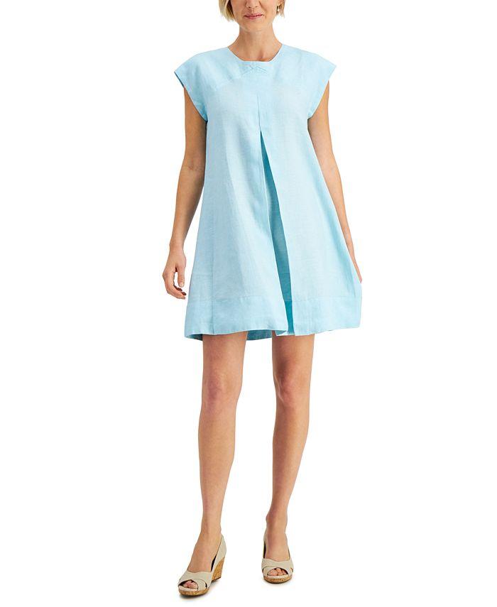 Charter Club - Tie-Back A-Line Dress