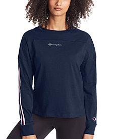 Champion Women's Campus Logo Long-Sleeve Shirt