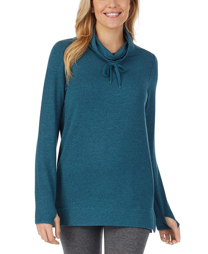 Cuddl Duds - Ultra Cozy Long-Sleeve Cowlneck Tunic