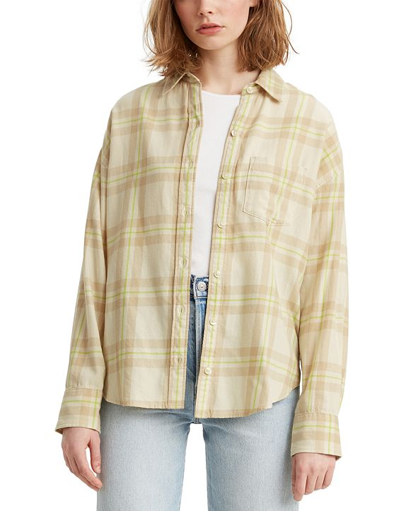 Levi's Cotton Relaxed Flannel Shirt