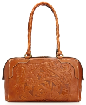 Patricia Nash Tooled Fabriano Satchel $ 198.00