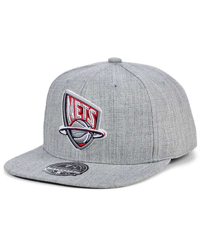 Mitchell & Ness - New Jersey Nets Hardwood Classic Team Heather Fitted Cap