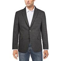 Deals on Tommy Hilfiger Mens Modern-Fit Patterned Blazer