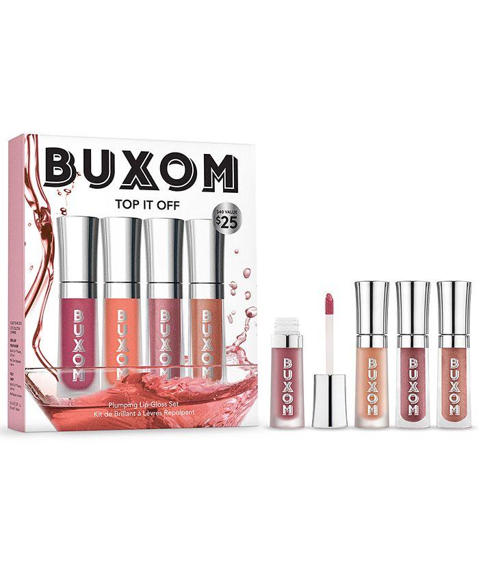 Buxom Cosmetics - 4-Pc. Mini Top It Off Plumping Lip Gloss Set