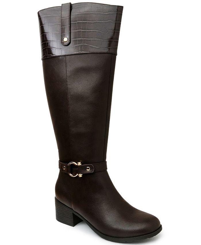 Karen Scott - Vickyy Extended Wide-Calf Riding Boots