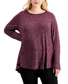 Calvin Klein Plus Size Long-Sleeve Tunic