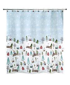 "Avanti Christmas Village 72"" x 72"" Shower Curtain"