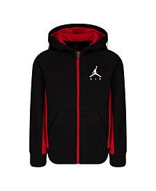 Jordan Toddler Boys Fleece Full-Zip Logo Hoodie