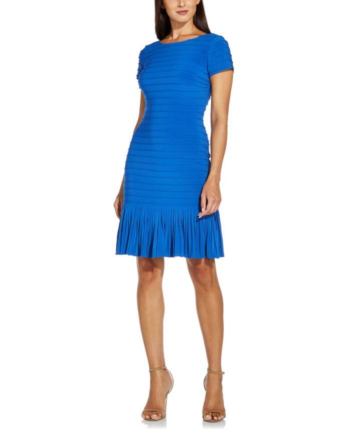 Adrianna Papell Flounce-Hem Bodycon Dress  & Reviews - Dresses - Women - Macy's
