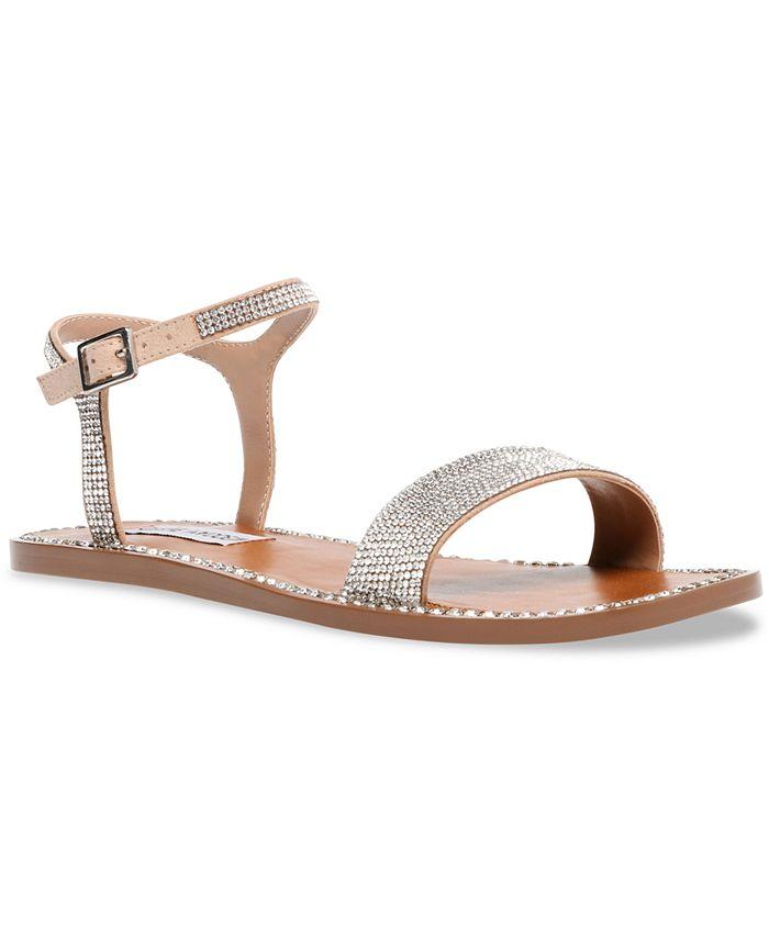 Steve Madden - Women's Nisha-R Rhinestone Sandals